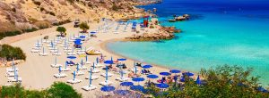 ayia napa strand panorama 300x110 - Beautiful Landscape Near Of Nissi Beach And Cavo Greco In Ayia Napa, Cyprus Island, Mediterranean Se